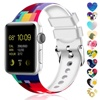 Sport 38mm 42mm Custom Silicone Arm Sweat Hand Fitness Smart Resistance Watch Band