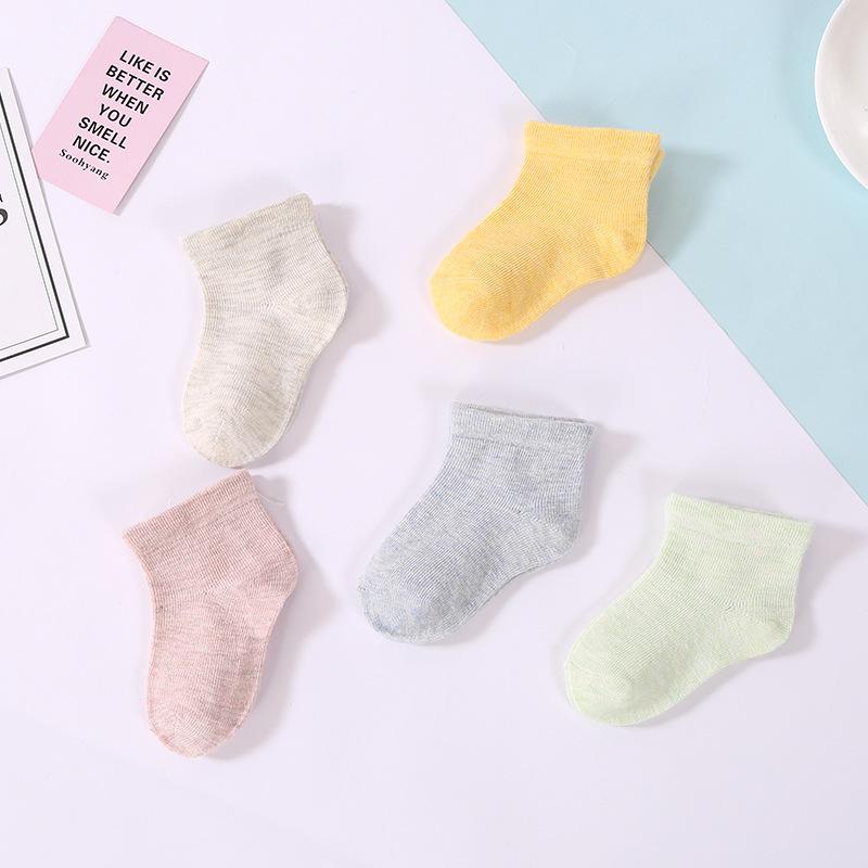 The new children's worsted thickened doll stockings Christmas sock, gift box baby socks, winter kids socks