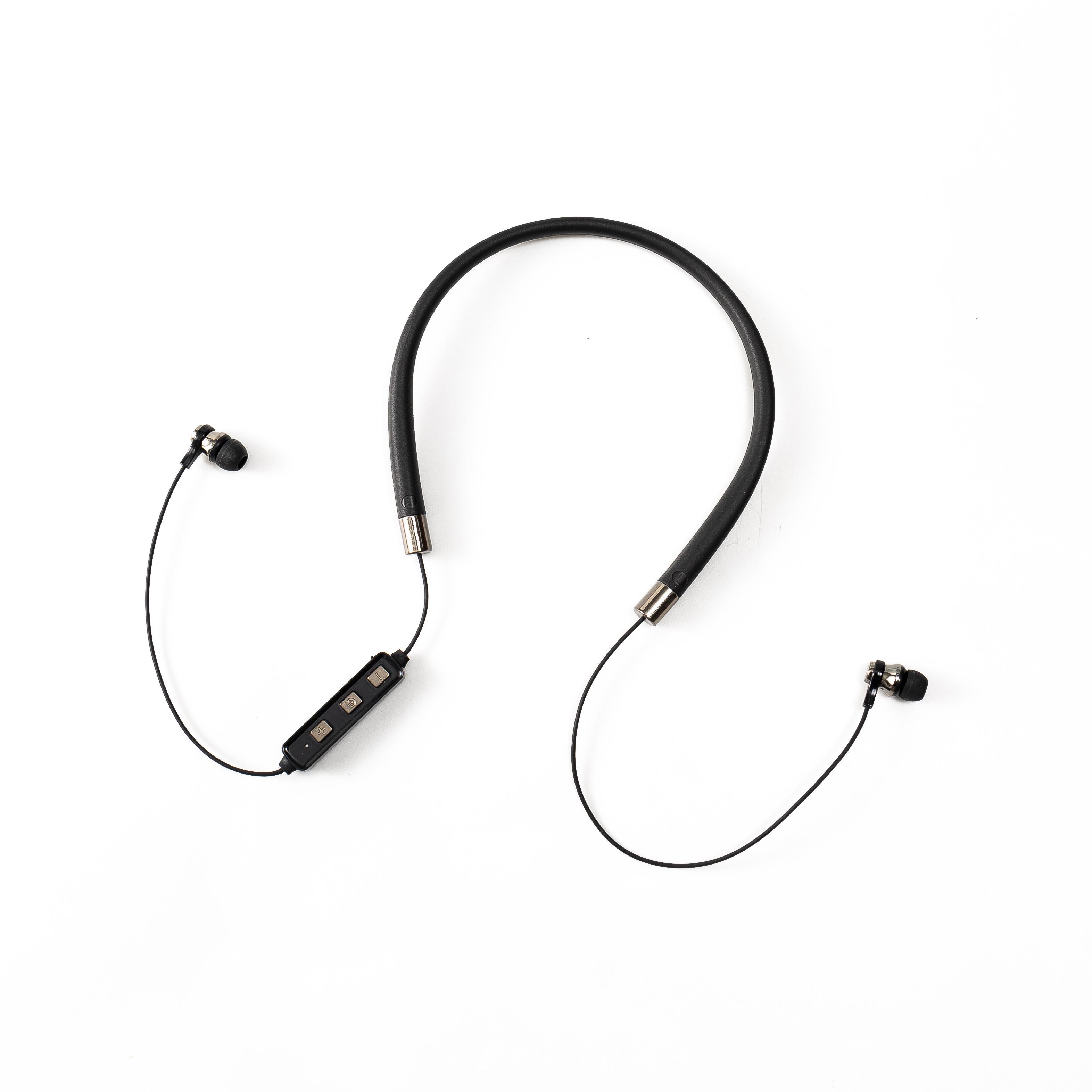 Ce/FCC/RoHS Fashion 5.0 Bluetooth Neckband in ear earphone Sports Wireless Portable music headphone Low price necklace Earphone - idealBuds Earphone | idealBuds.net