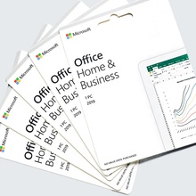 Globale versione di Microsoft Office 2019 Home and Business key card per pc/mac Bind conto di attivazione online scaricare
