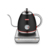 1.2L Multifunction Stainless Steel Gooseneck Electric Kettle Pink Coating Temperature Control