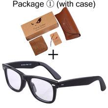 Ацетатные оптические прозрачные очки, оправа для мужчин wo, мужские очки, рамка с имитацией очков, декоративные очки для близорукости, прозра...(Китай)