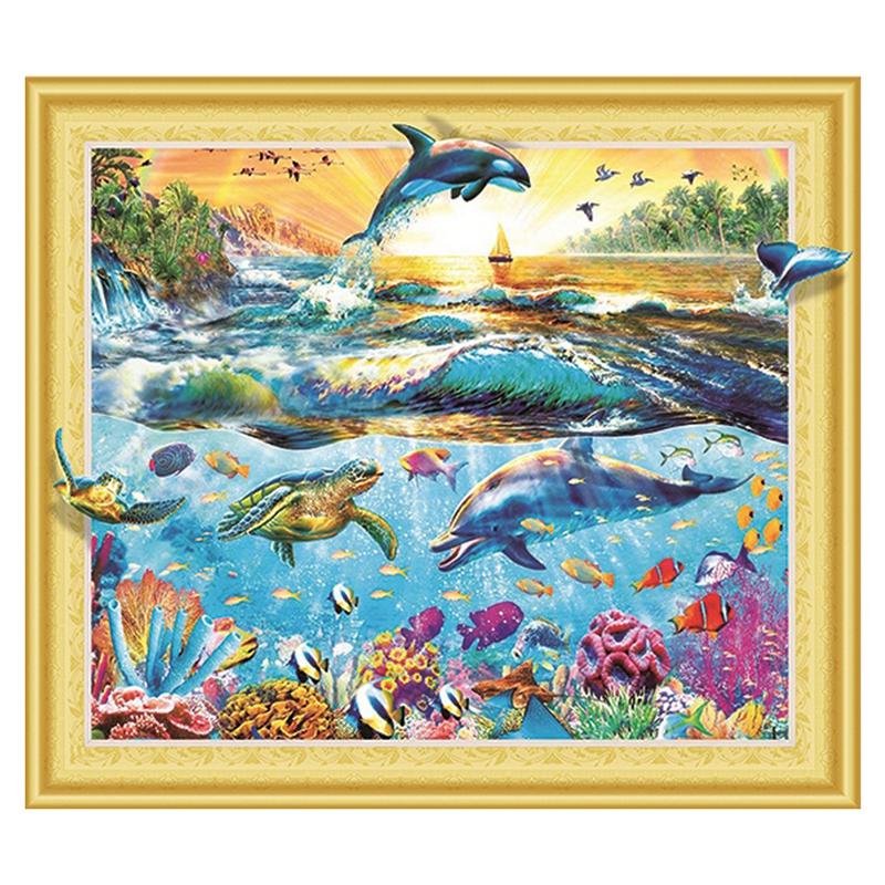 песочные картинки рыбки и дельфин планировки улучшены разнообразны
