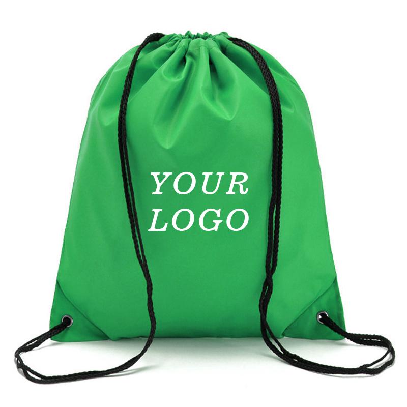 2019 haute Qualité Logo Personnalisé Imprimé Recyclable Polyester Matériel Sport Sac De Sport