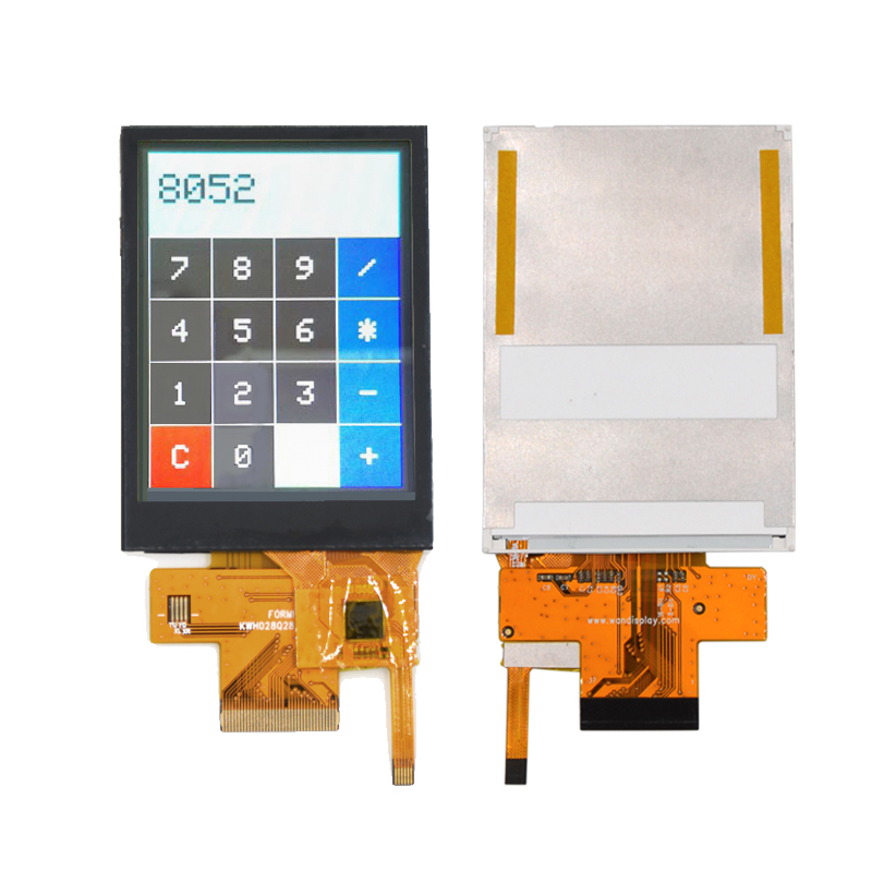 TFT 9341 37 Pin LCD Display 2.8'' Capacitive Touch Screen With MCU Interface