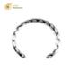 Custom Engrave Jewelry Unisex Women Men Stainless Steel Bracelet Twisted Cuff Bangle