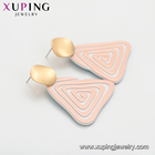 Earrings Triangle Earrings Exaggerated Earrings E-998 Xuping Jewelry Wholesale Price Hot Sale Round Exaggerated Earrings Triangle Acrylic Earrings For Women