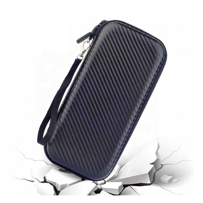 OEM Shakeproof Carbon Fiber PU Nintendo Switch EVA <strong>Hard</strong> <strong>Case</strong>