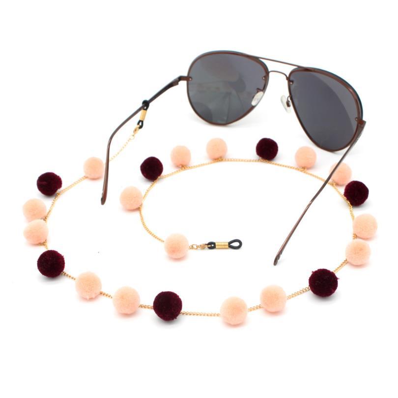 China Factory Wholesale Sunny cord Eyewear Accessories Eyeglass Holder Glasses Chain Sunglasses Lanyard