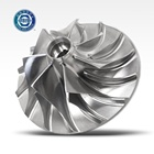 Customized CNC milling Processing Industrial Turbine impeller OEM Jet Pump impellers for water pump Stainless Steel