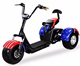 Hot Selling Adult three wheel bicycle Lithium Battery 60V 20Ah Scooter Citycoco 3000 w electric scooter