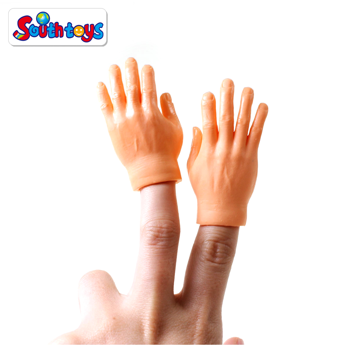 Set of 10pcs Left or Right Tiny Hands Toy Finger Hands Finger Puppets