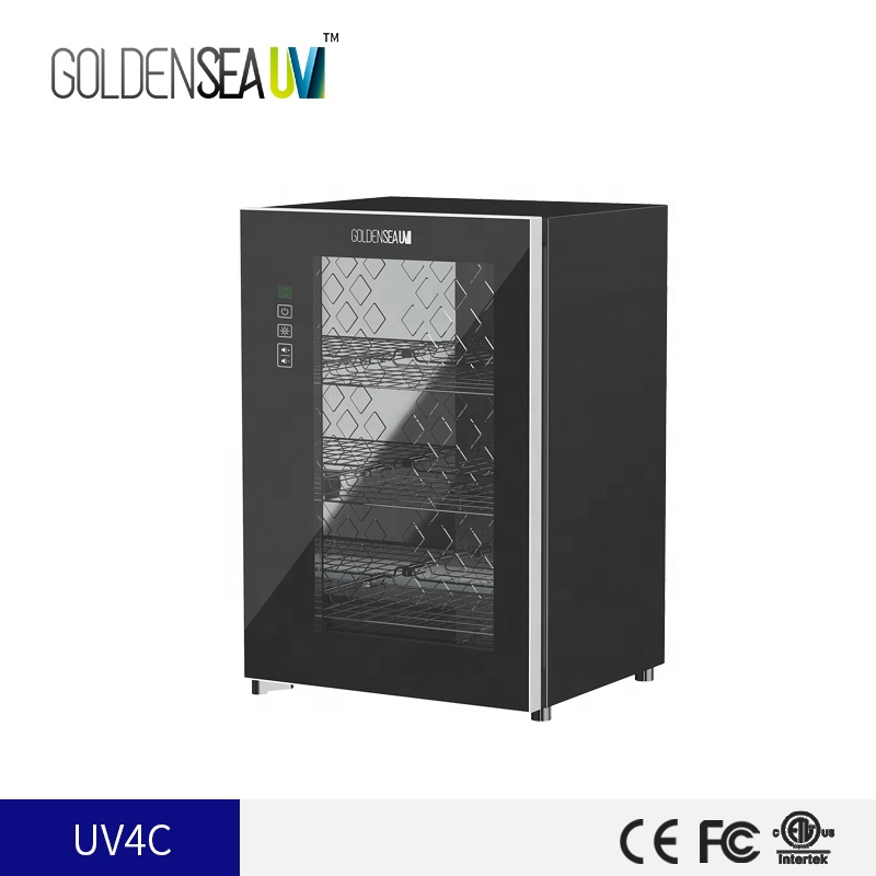 wholesale no ozone 8W case small items ultraviolet uv-c disinfection cabinet