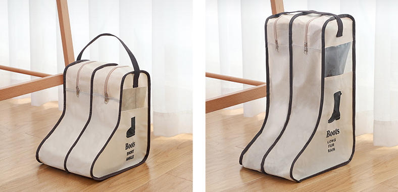 product-GF bags-Customized Shoes Storage Bag Organizer Non-woven Travel Portable Bag Waterproof Pock