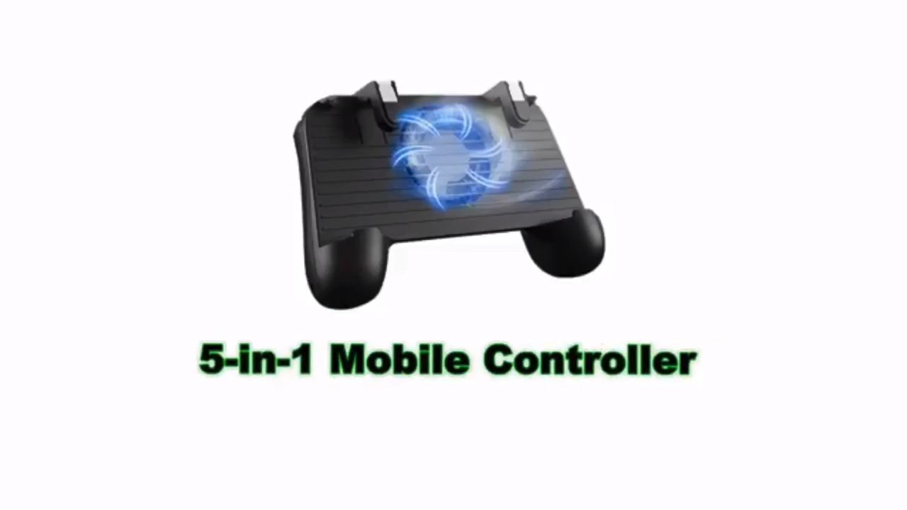 Amazon Top sales mobile phone Gaming Controller joystick with Powerful Cooling Fan