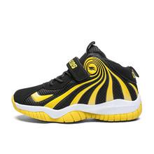 Баскетбольные кроссовки для мальчиков; Новейшая Обувь Jordan для детей; Высокие армейские ботинки из сетчатого материала; Обувь для подростко...(Китай)