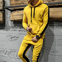 Velvet Mens Polyester Plain Cotton Sweat Suits Sweatsuit Jogging Suit Summer Tracksuit Men