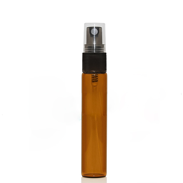 New invention 3ml 5ml 10ml brown transparent glass perfume bottle spray bottle