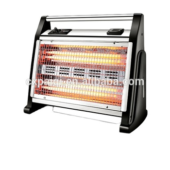 Hot selling humidifier and fan function infrared quartz heater