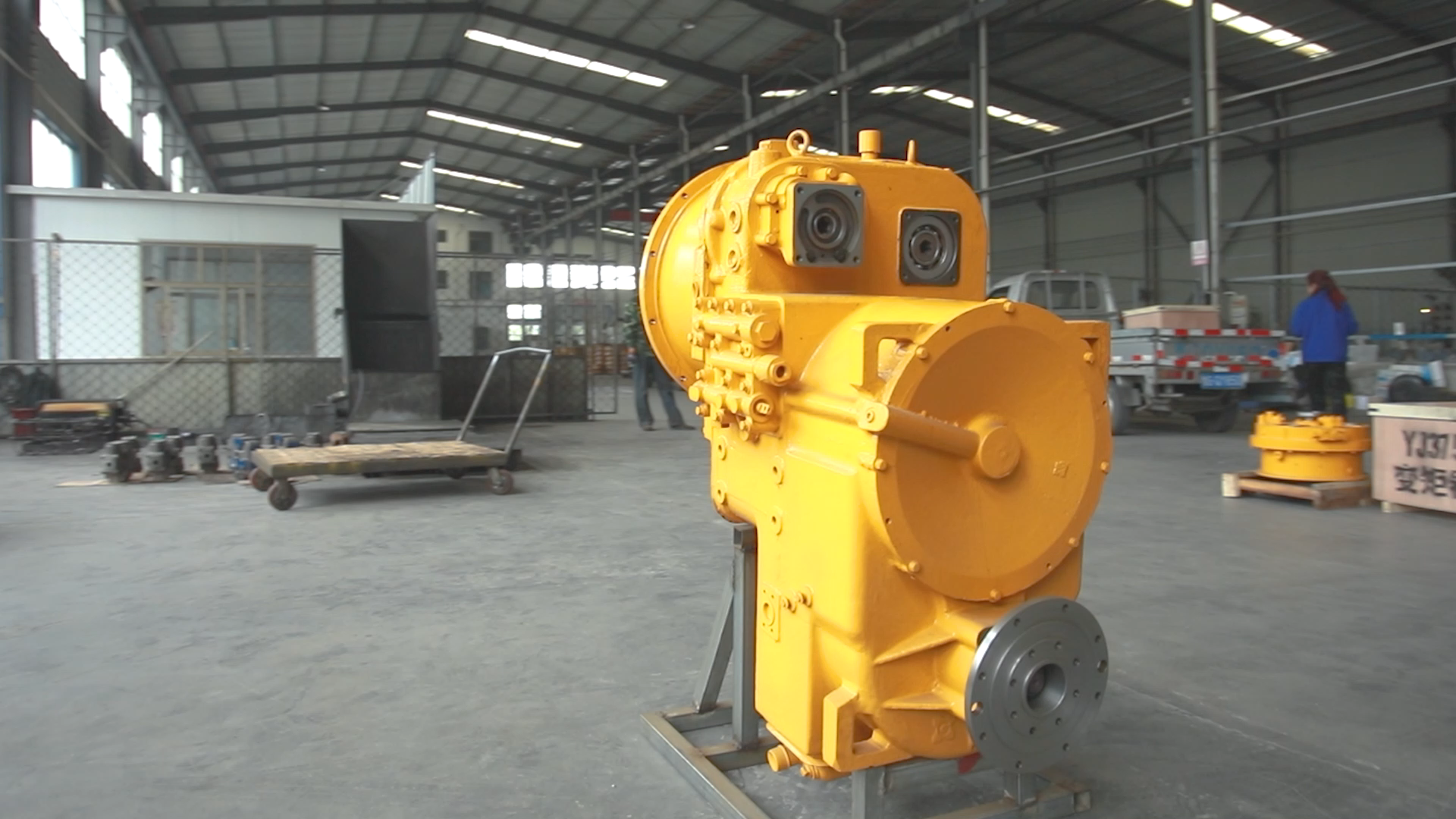 hydraulic converter transmission manufacturers reducer gear box for wheel loader