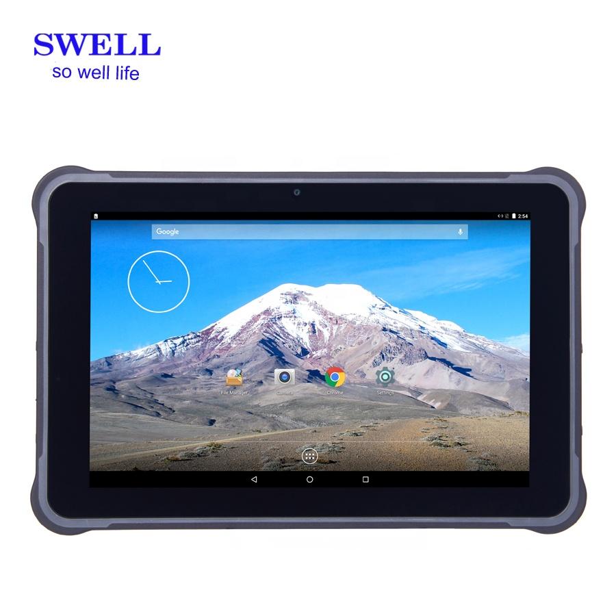 Polegadas Android 7.0 DDR3GB 10 32GB rom grande bateria removível bateria spec militar dupla wifi oem marca tablet robusto pc