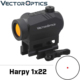 Vector Optics Harpy 1x22 AR15 M4 AK47 Red Dot Scope Red Dot Sight with QD Picatinny Riser Mount 20000 Hours Run-time