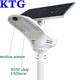 Basketball and baseball court Smart fly hawk all in one solar street light 3030 birdgelux chip 150lm/w with 5years warranty