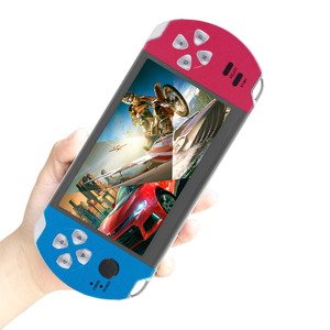 wholesale price 32Bit 5.1 inch Retro Classic family HD TV Video Console Handheld Game Player for light game player
