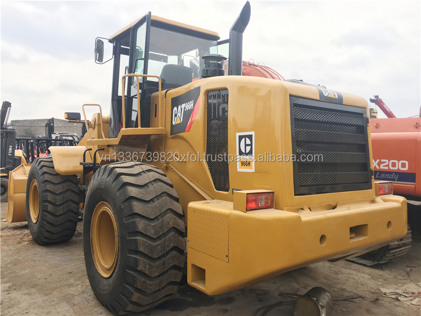 Made in Japan CAT 966H Wheel Loader/Used Caterpillar 966 Front Loader For Sale