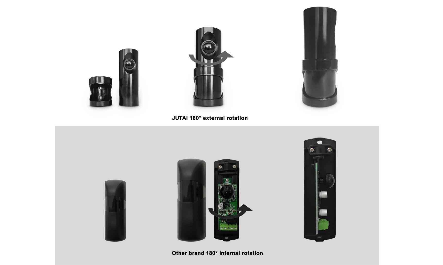 أجهزة استشعار شعاع ضوئية دورانية