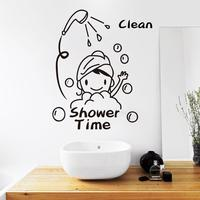Custom Cartoon Decorative Removable Vinyl Decal Transfer Wall Stickers