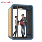 Aerospace-grade Aluminum Movable Silence Booth Office Private Pod Workstation With 4000K Natural Light