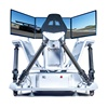 Hot Entertainment 6DOF three Screen Racing Car Simulator