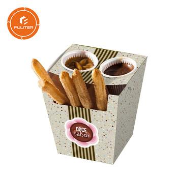 Kertas Dimasak Kotak Makanan Kemasan Churros Buy Churros Kotak