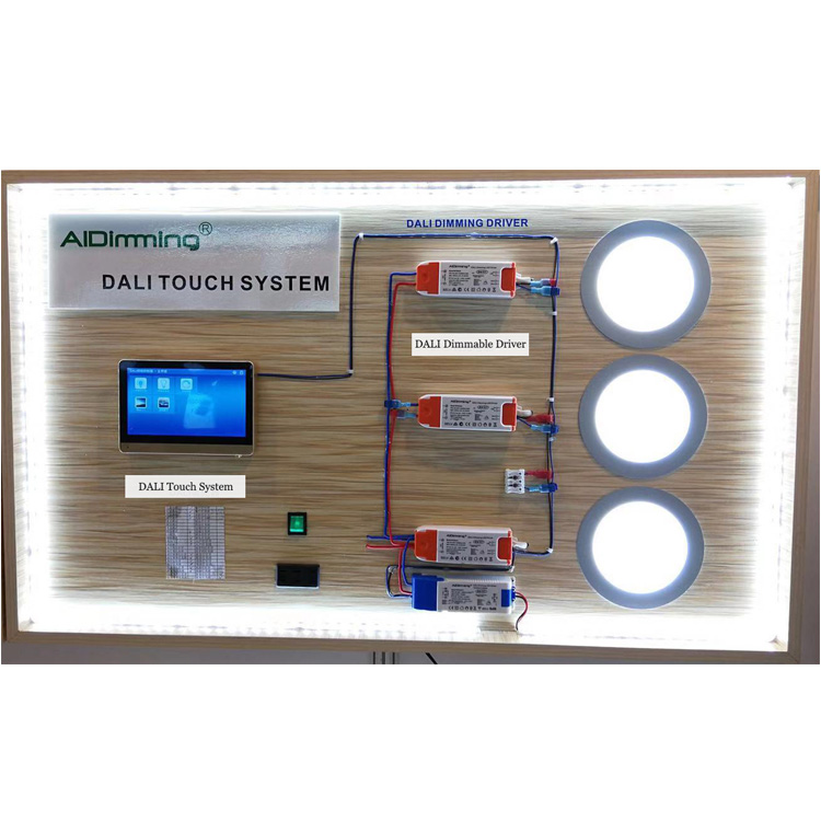 DALI Touch Dimming System for Lighting Project Control System for Hotel Shop Restaurant Meeting Room