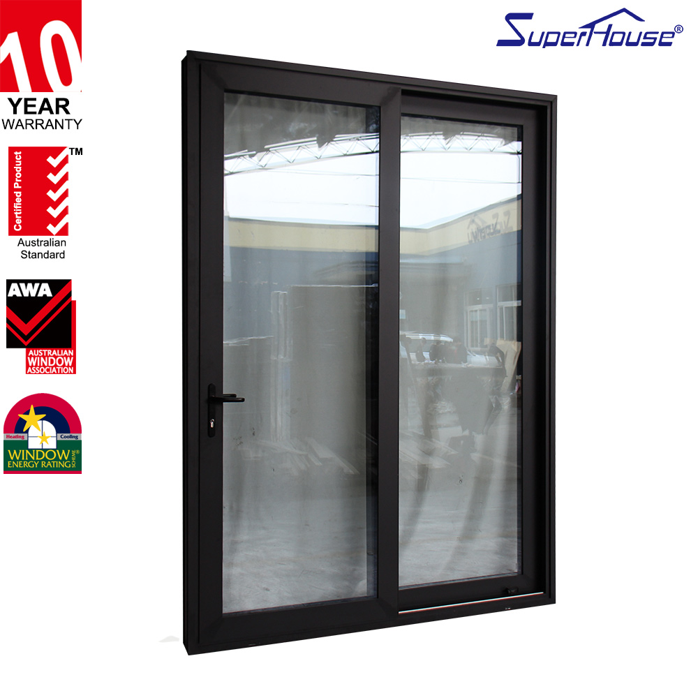 AAMA/Australia standard / New Zealand standard / Miami  impact NFRC glass sliding doors