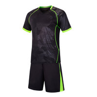 Good Quality Custom Made Design Wholesale Professional Soccer Uniform Men Kits Jersey set