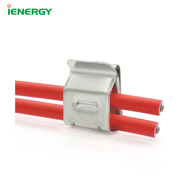 Factory Wholesale Stainless Steel solar panel clip cable clamps
