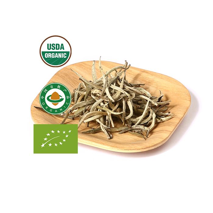 Organic White Tea Silver Needle For Loose Leaf Tea Wholesale - 4uTea   4uTea.com