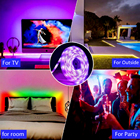 Led 12v 5050 Rgb Ledrgb5050 5050 Rgb Strip LED Light Strip Kit 12V SMD5050 Bluetooth IR Controller 44-key Remote IP65 Waterproof 16.4ft 150LED 5050 Rgb Led Strip