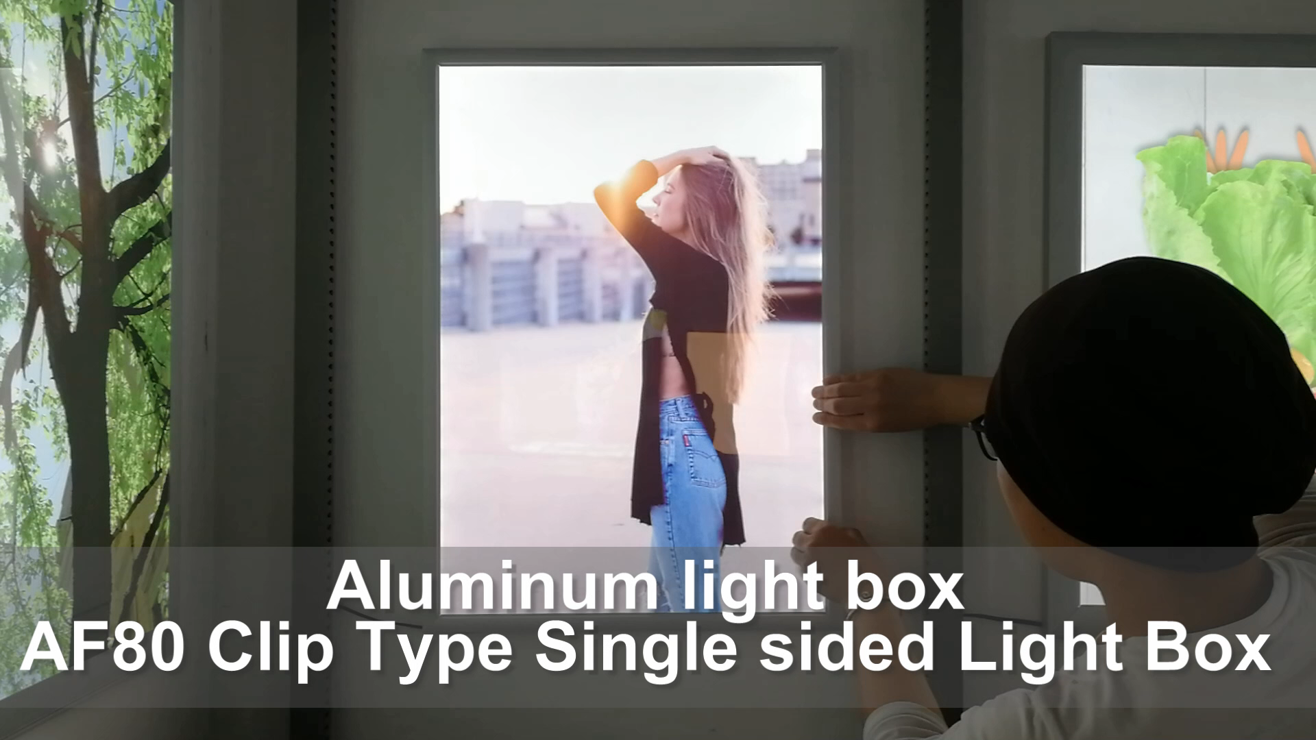 Super bright led display board for advertising A0 A1 A2 A3 A4 size customized