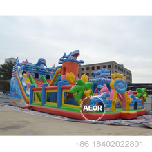 Big Inflatable ปราสาท amusement Park rides Theme BOUNCE House Commercial