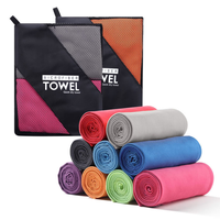 Kutto Microfibre Towel perfect travel & sports & beach towel fast drying super absorbent ultra compact