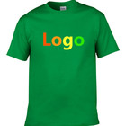 OEM/ODM t-shirt wholesale blank 100% cotton custom logo printed embroidered t shirt men top tee apparel