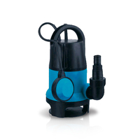 Plastic Body 1hp Sewage Garden Mini Submersible Water Pump With Float Switch