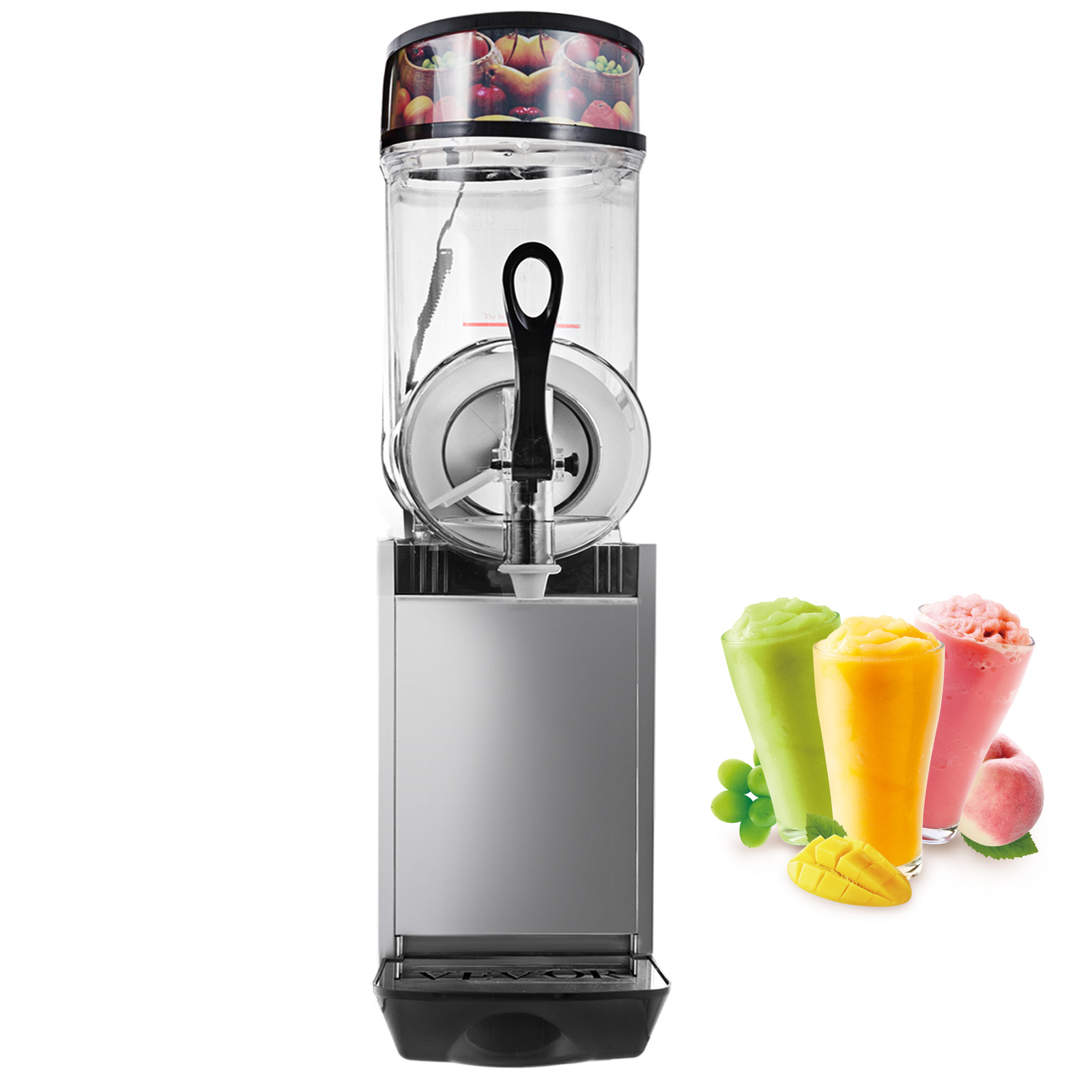 automatic mini ice cream slush machine high quality slush making machine