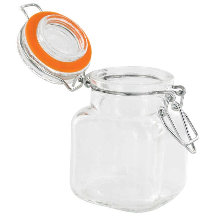 High Quality Kitchen Mason Preserve Jars glass storage set with airtight lid