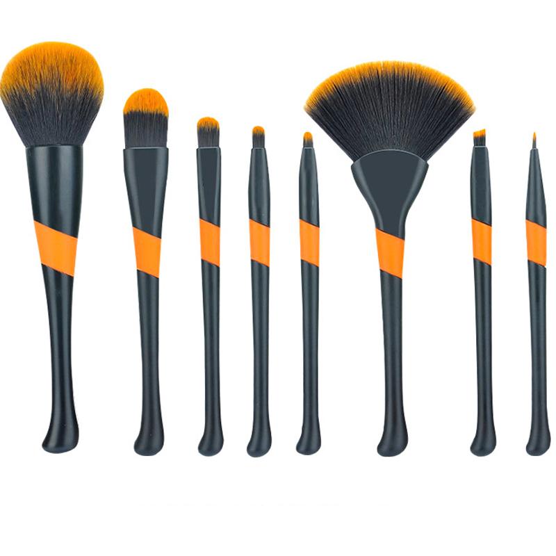 Maquillaje cepillo de polvo suelto cepillo de cejas ventas directas de la fábrica