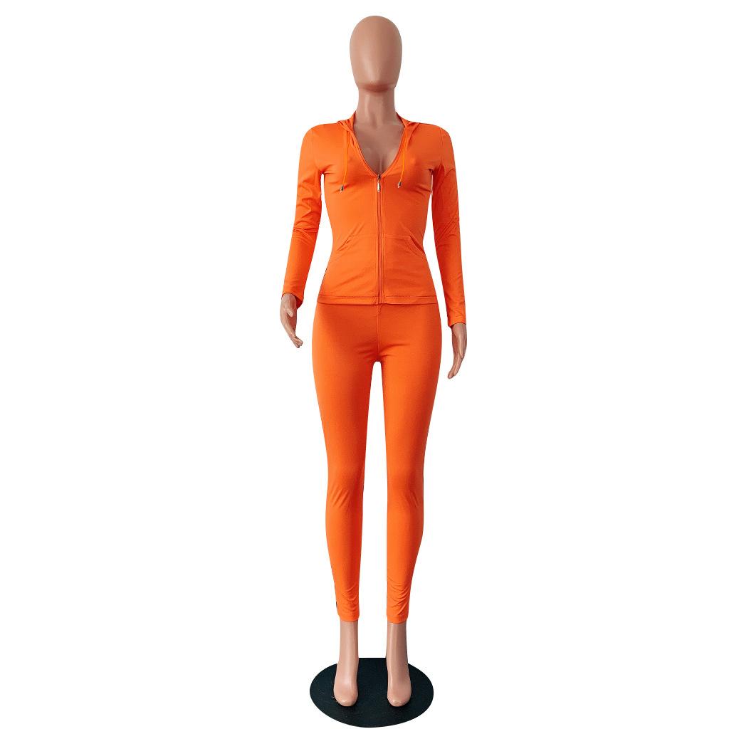 HAOYUAN/комплект из двух предметов; Спортивный костюм; Женская праздничная одежда; осенне-зимний топ + брюки; спортивные костюмы; неоновые компл...(Китай)