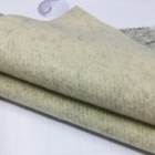 Wholesale 54% polyester 40% cotton 6% wool plain dyed flat knitted velvet fabric